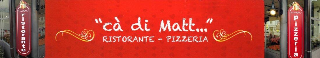 Ristorante Pizzeria Ca di matt Luino